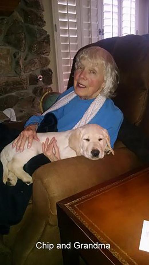 Chip and Grandma